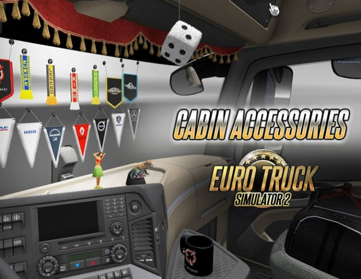 Euro Truck Simulator 2 Cabin Accessories (steam) -- RU