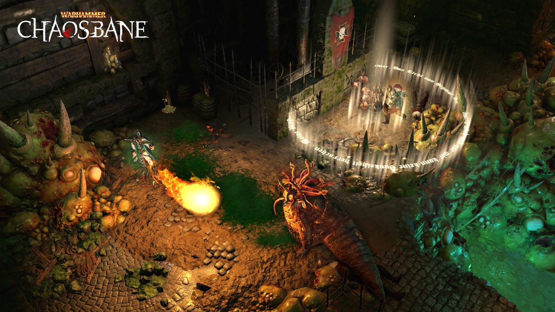Warhammer Chaosbane Magnus Edition (steam key) -- RU