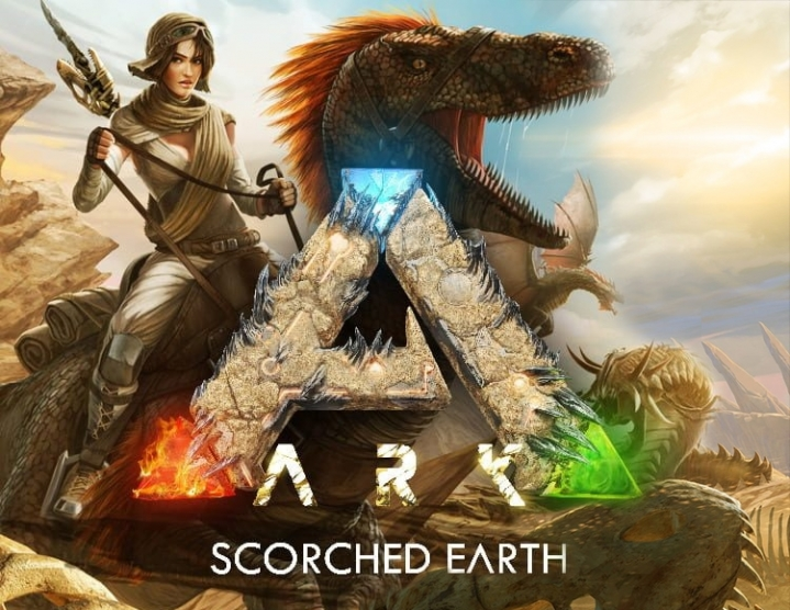 ARK Scorched Earth  Expansion Pack -- Region free