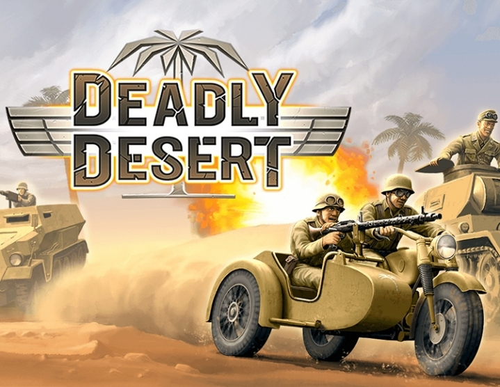 1943 Deadly Desert (steam key) -- RU