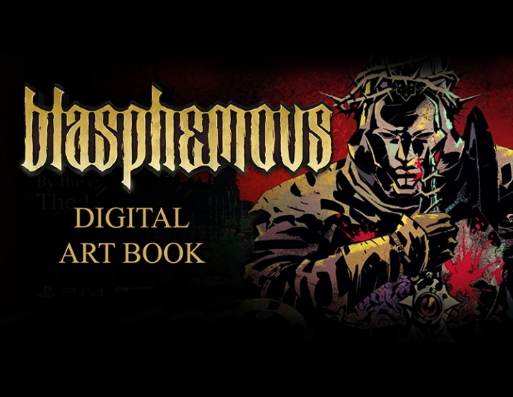 Blasphemous  Digital Artbook (steam key) -- RU