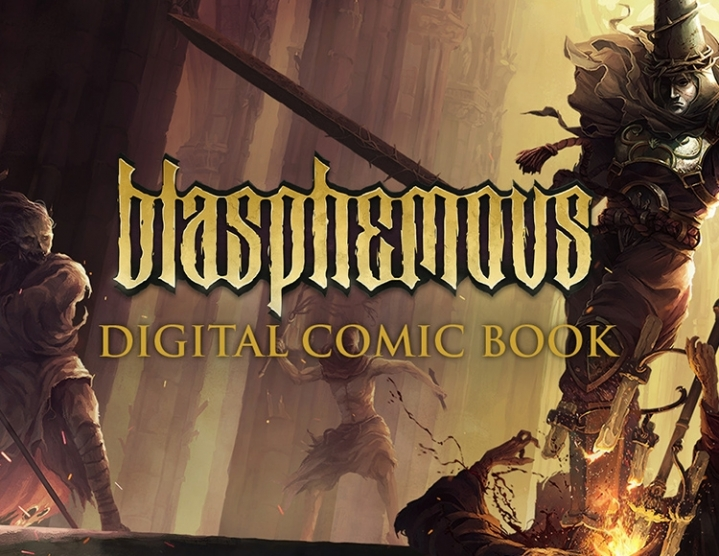 Blasphemous  Digital Comic (steam key) -- RU