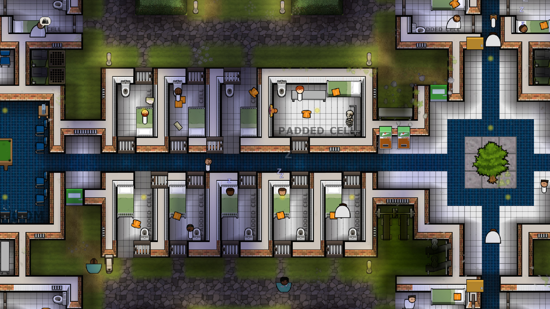 Prison Architect Psych Ward Wardens Ed DLC Steam -- RU