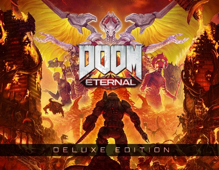 DOOM Eternal Deluxe Edition (steam key) -- RU