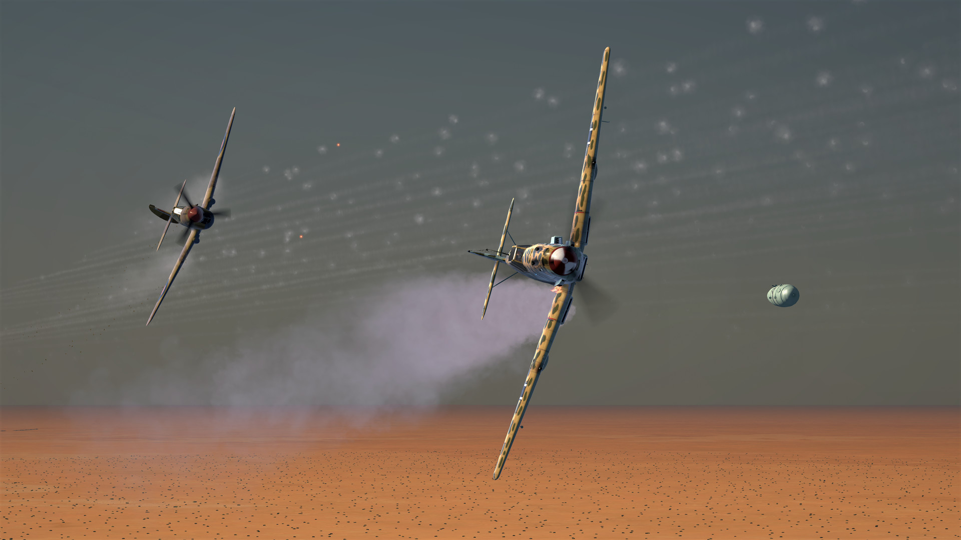 IL2 Sturmovik Desert Wings  Tobruk (steam key) -- RU