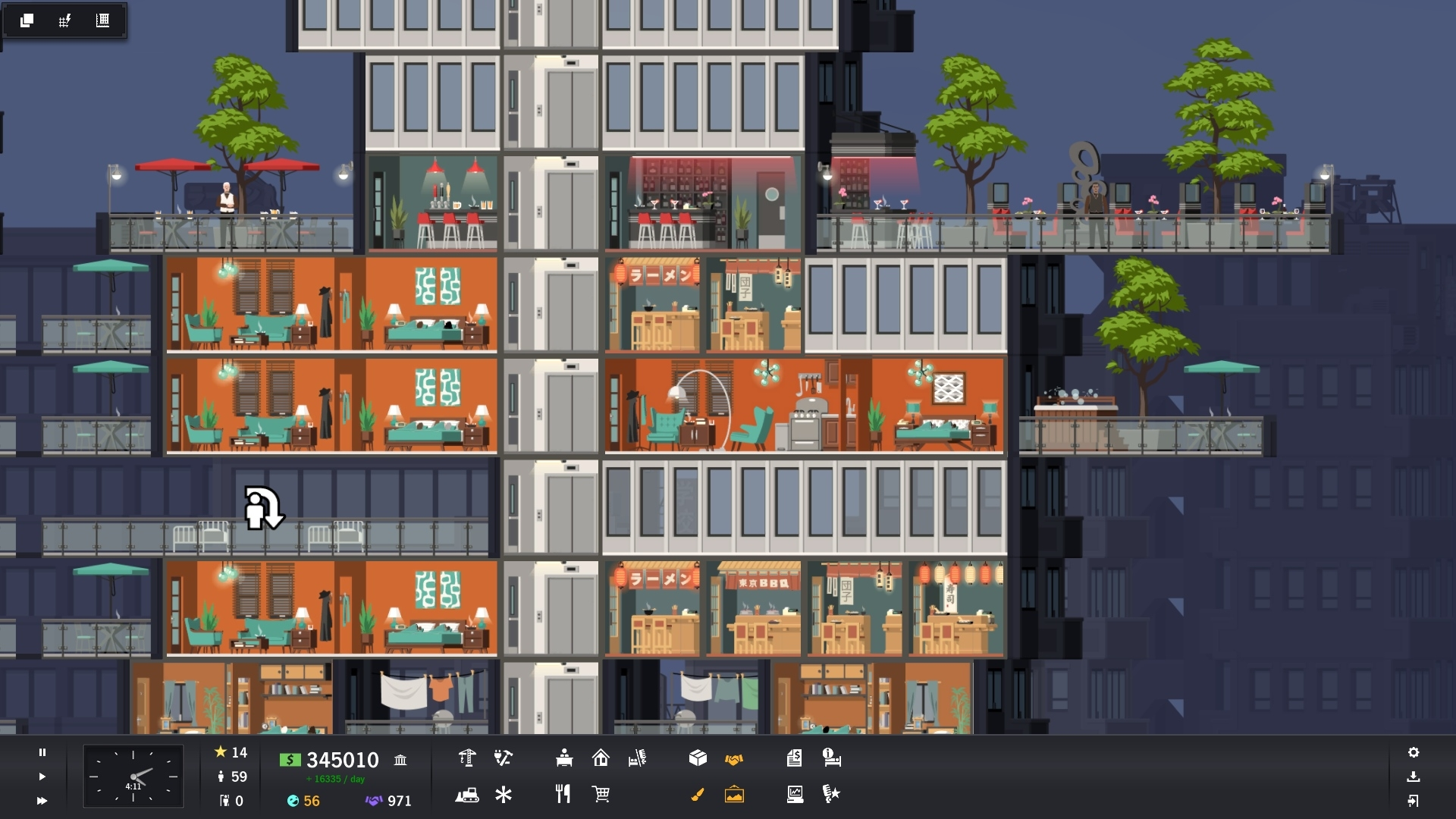 Project Highrise Tokyo Towers (steam key) -- RU