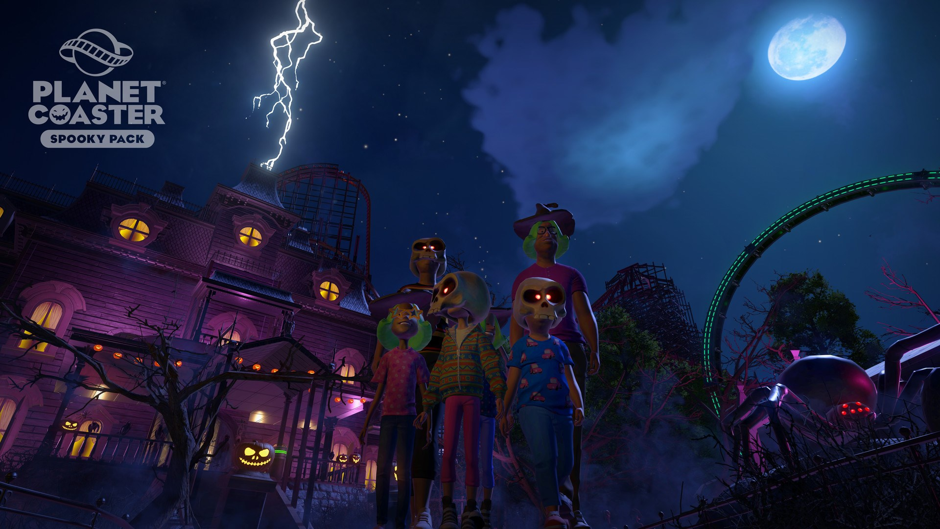 Planet Coaster Spooky Pack (steam key) -- RU