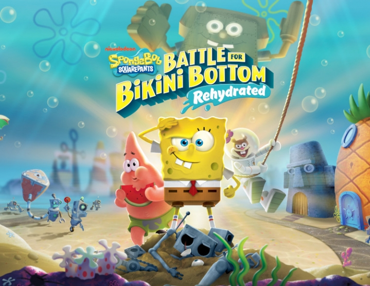 SpongeBob Battle Bikini Bottom Rehydrated steam -- RU