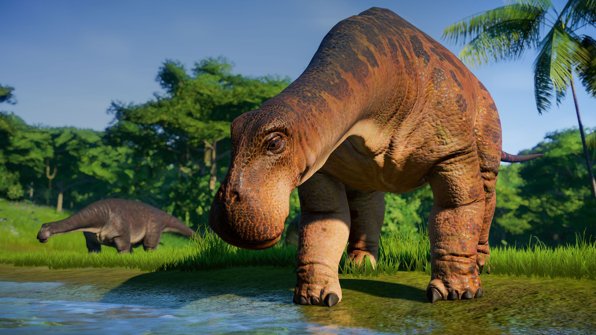 Jurassic World Evolution Herbivore Dinosaur -- RU