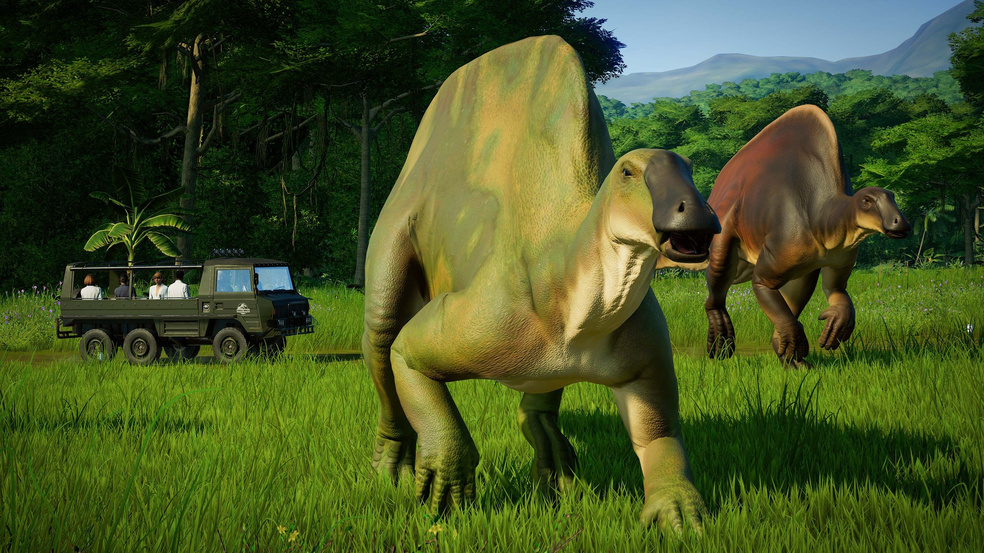 Jurassic World Evolution Claires Sanctuary steam -- RU