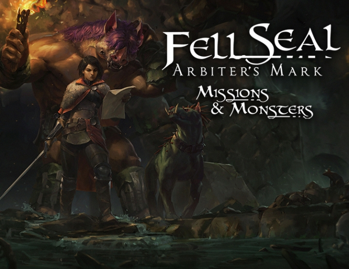 Fell Seal Arbiters Mark  Missions and Monsters -- RU