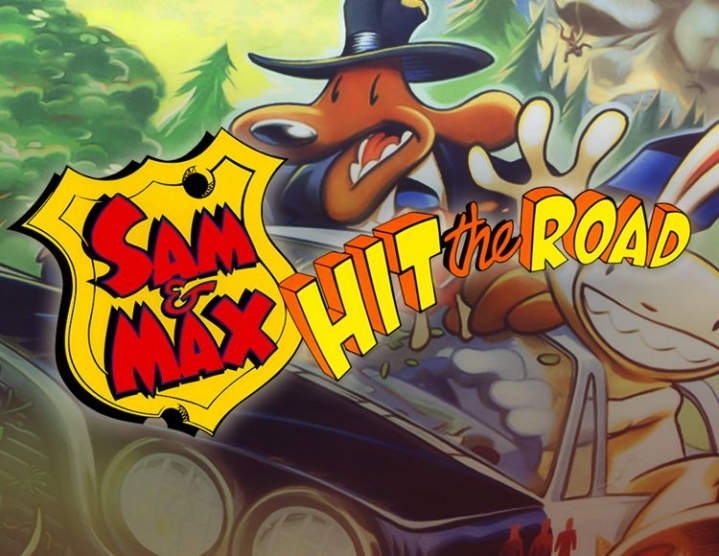 Sam  Max Hit the Road (steam key) -- RU