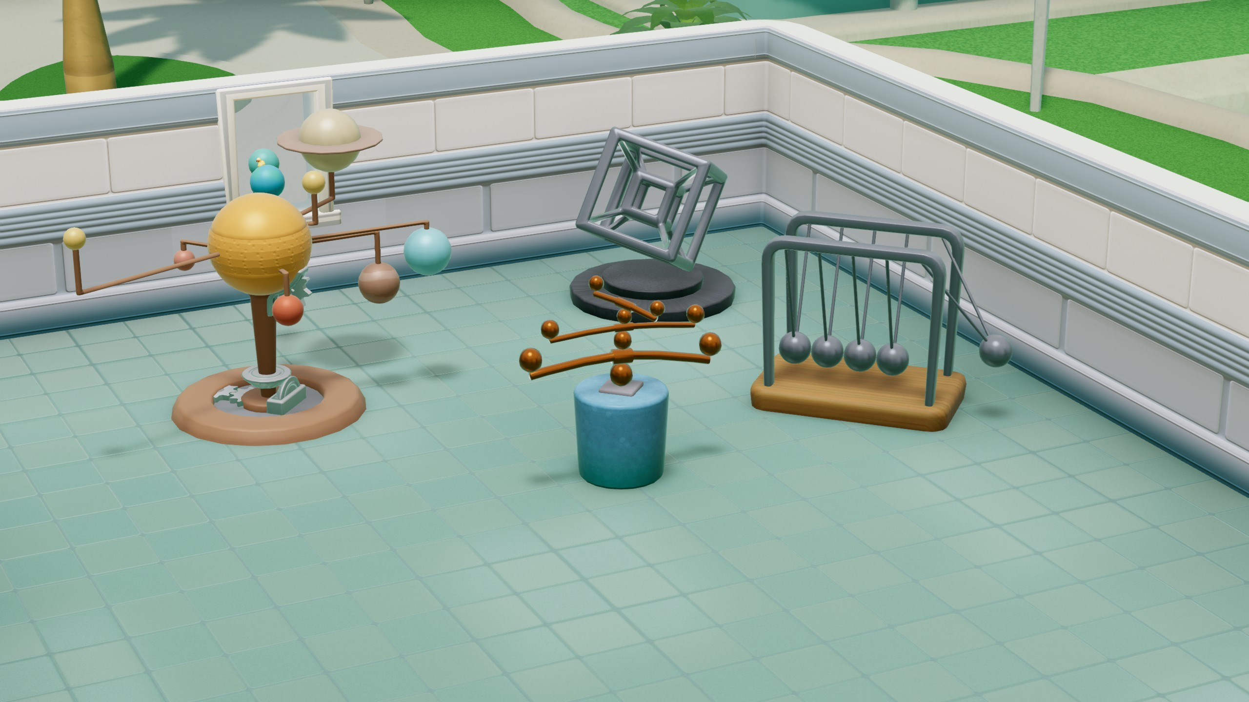 Two Point Hospital Exhibition Items Pack (steam) -- RU