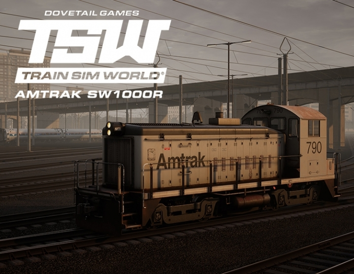 Train Sim World Amtrak SW1000R Loco AddOn steam -- RU