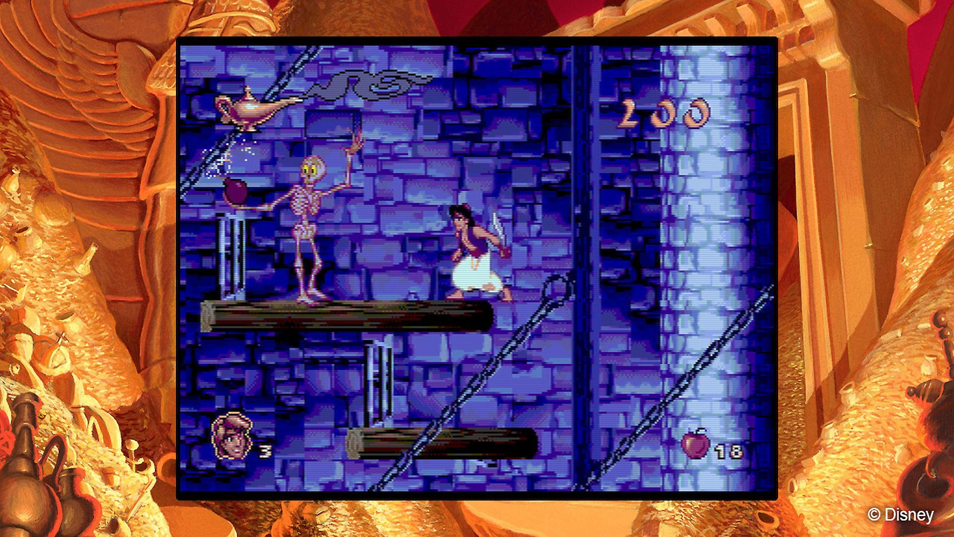 Disney Classic Games Aladdin and The Lion King -- RU