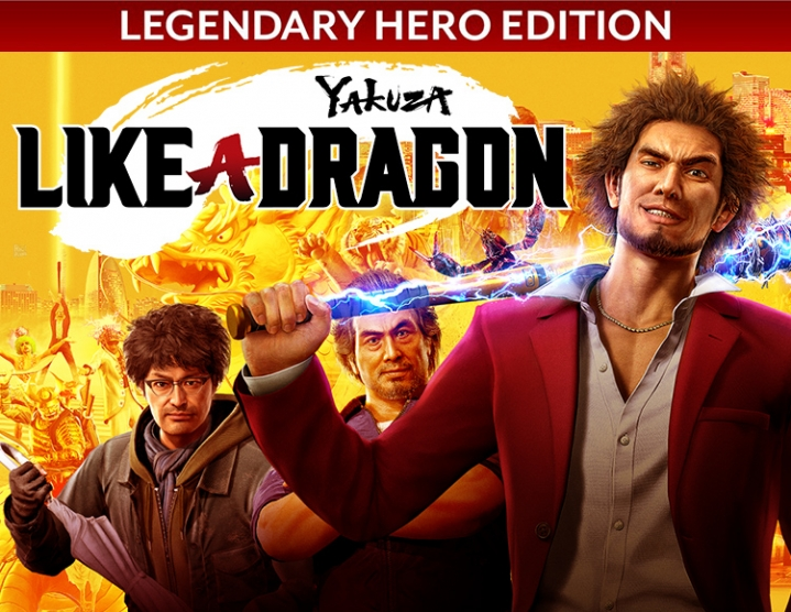 Yakuza Like Dragon Legendary Hero Edition steam -- RU