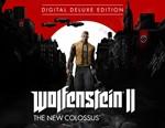 Wolfenstein II The New Colossus Deluxe Steam -- RU