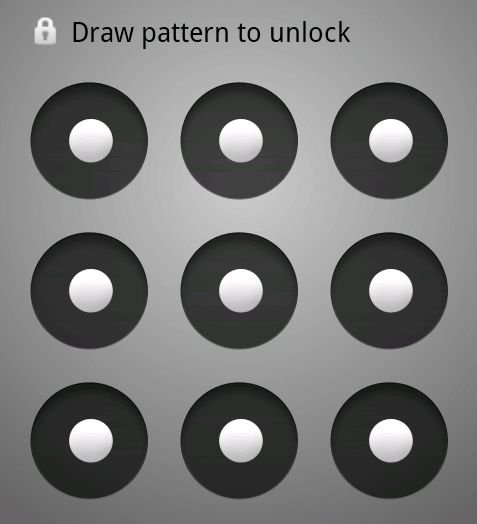 How to remove pattern key on Android