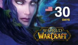 World of Warcraft time card 30 days (US/NA) + Classic