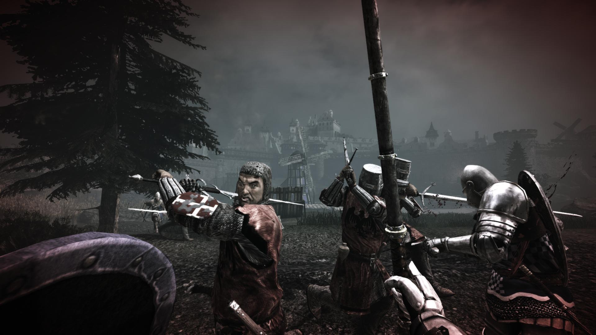 Chivalry medieval warfare (2012) pc rus скачать через торрент на.