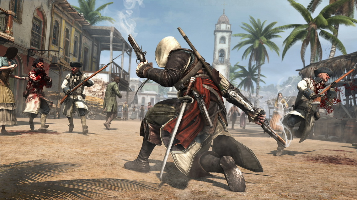 Assassin's Creed IV Black Flag Deluxe (Steam Gift / RU)