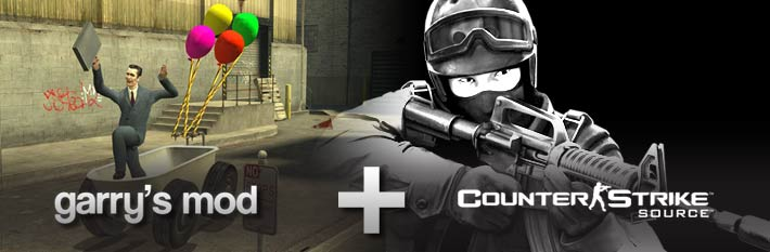 Counter-Strike: Source + Garry´s Mod (Steam Gift)
