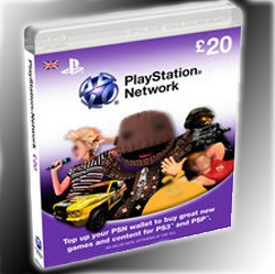 Playstation Network Card 20₤ UK