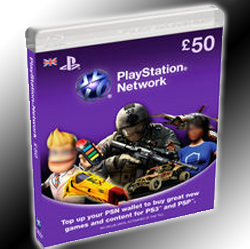 Playstation Network Card 50₤ UK
