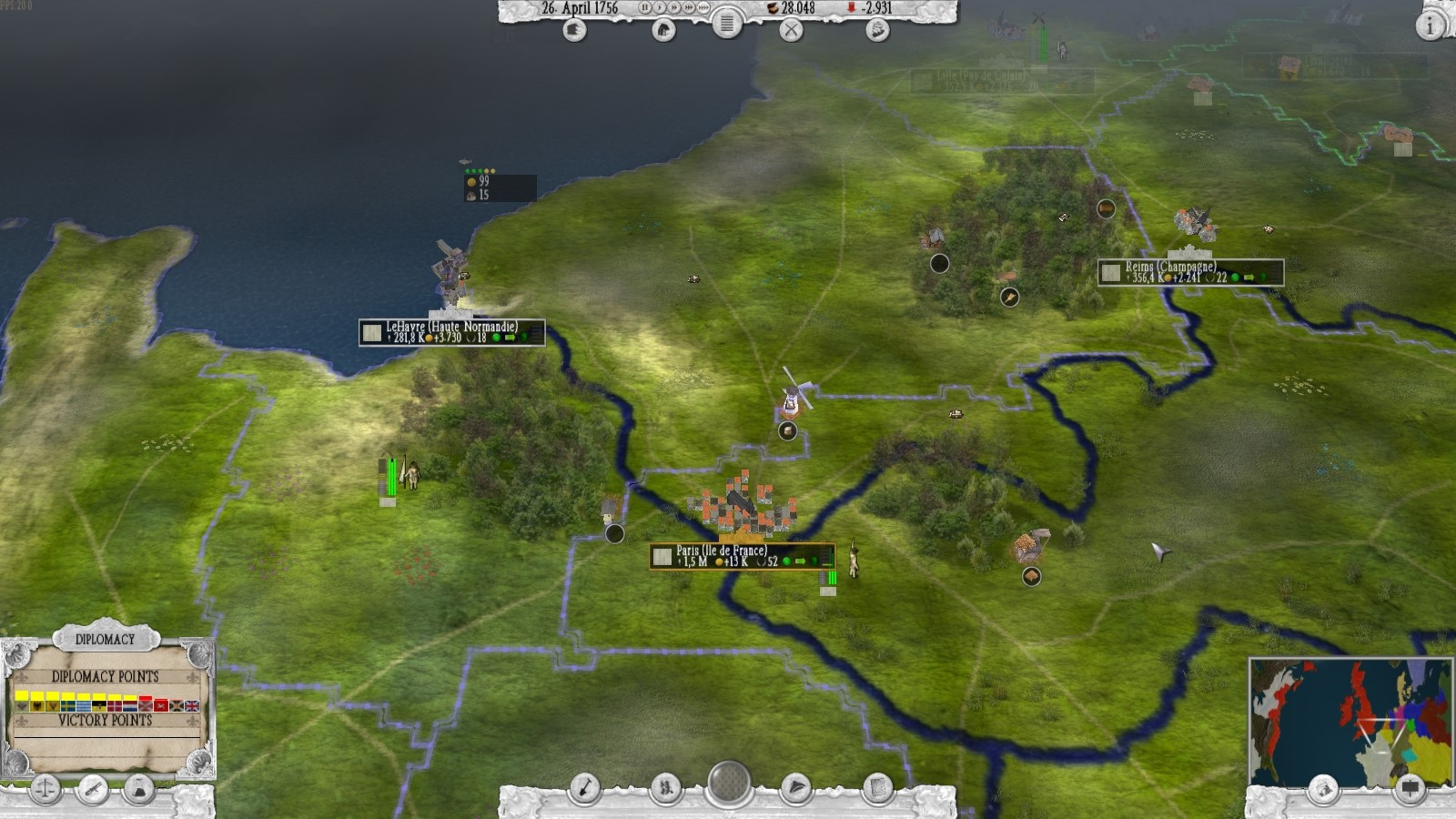 The Seven Years War (1756-1763) STEAM KEY ROW