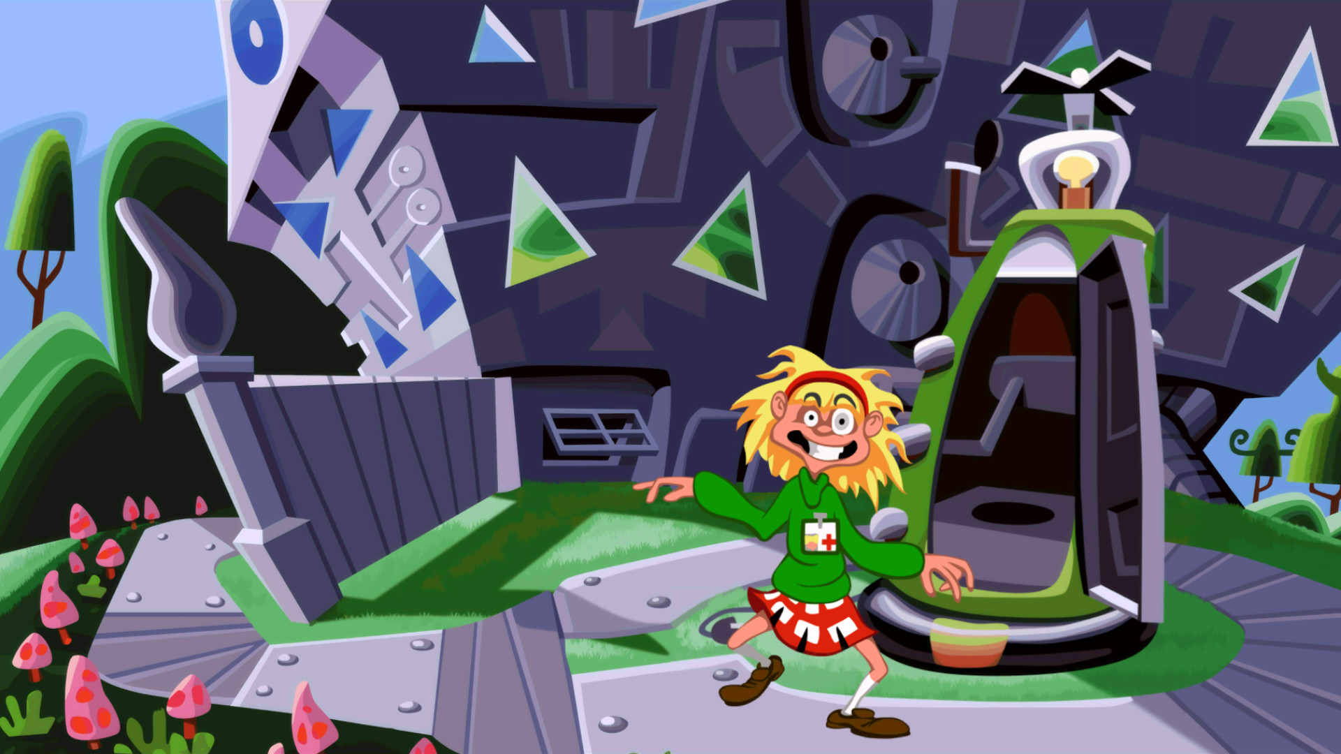 Day of the Tentacle Remastered STEAM KEY ROW/BONUS