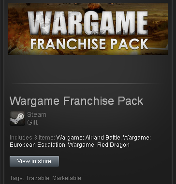 Wargame Franchise Pack (ROW) - STEAM Gift - Region Free