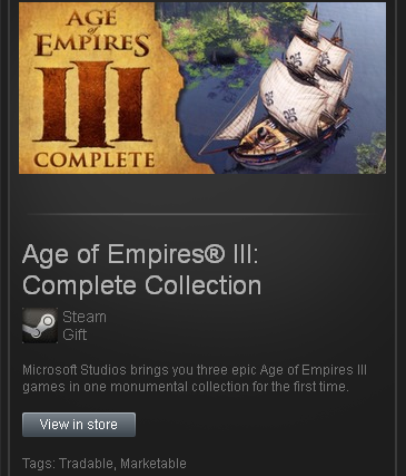 zzzz_Age of Empires III Complete Collection STEAM ROW