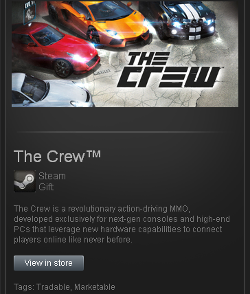 The CREW (ROW) - STEAM Gift - Region Free