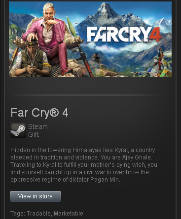 Far Cry 4 - STEAM Gift region Free/ROW/GLOBAL/tradable