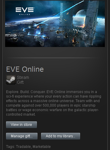 Buy zzzz_EVE Online Core Starter Pack - STEAM RU/CIS/UA and