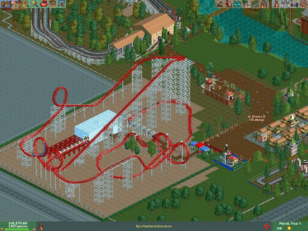 zzzz_RollerCoaster Tycoon 2 Triple Thrill Pack - STEAM