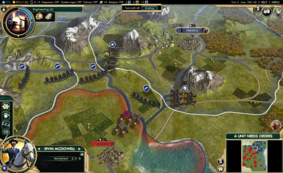 Sid Meiers Civilization V Brave New World - STEAM Gift