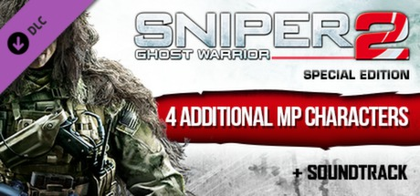 Sniper Ghost Warrior 2: Digital Extras (DLC) Steam Key