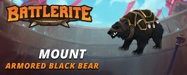 Battlerite - Armored Black Bear Mount (DLC) STEAM Key