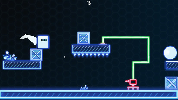 2D Neon Cube - STEAM Key - Region Free / ROW / GLOBAL