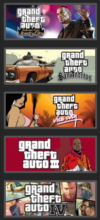 Grand Theft Auto Complete Pack - STEAM - reg free / ROW
