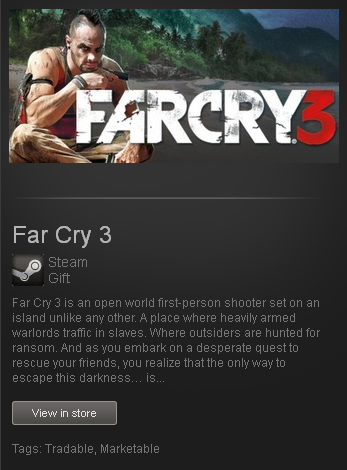 Far Cry 3 - Deluxe STEAM Gift - Region Free/ROW/GLOBAL