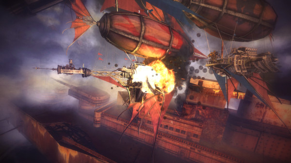 Guns of Icarus Online (ROW) - STEAM Key - Region Free