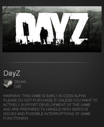 zzzz_DayZ Early Access - STEAM Gift - Region RU+TR only