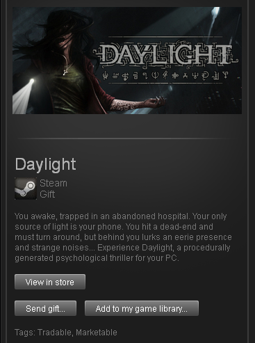 Daylight (ROW) - STEAM Gift - Region Free / World Wide