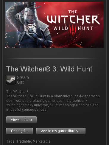 The Witcher 3: Wild Hunt - STEAM Gift - Region Free/ROW