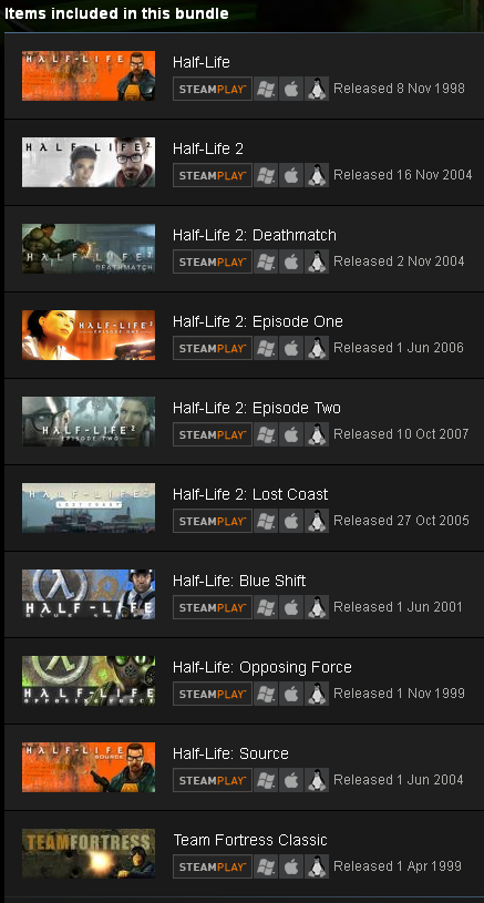 Half-Life: Complete (ROW) - STEAM Gift - Region Free