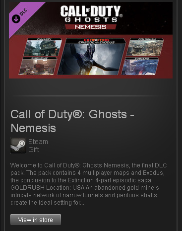 Call Of Duty Ghosts Maps Packs on