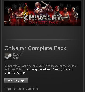 Chivalry Complete Pack - STEAM Gift - Region GLOBAL
