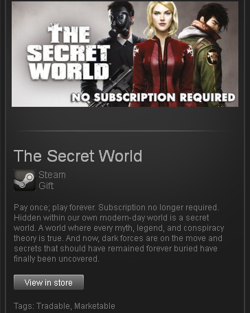 The Secret World Legends - STEAM Gift / ROW / GLOBAL